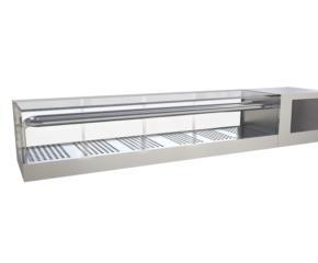 Автономная охлаждаемая витрина для суши-сашими