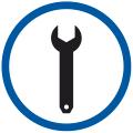 • Электрические и охлаждающие компоненты легко доступны для регулярного технического обслуживания. • Журнал данных доступен для техников. • Прокладки легко заменяются.